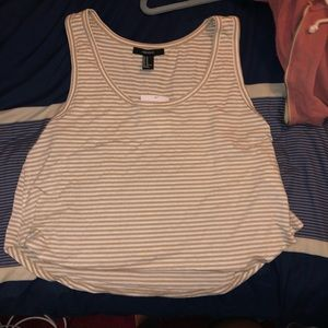 Cropped forever 21 top